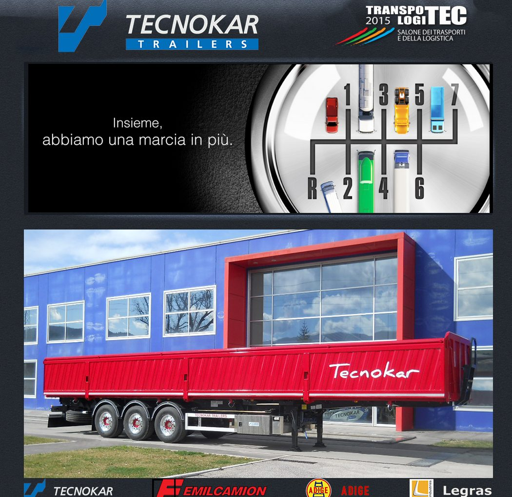 Transpotec 2015, ti invita Tecnokar!
