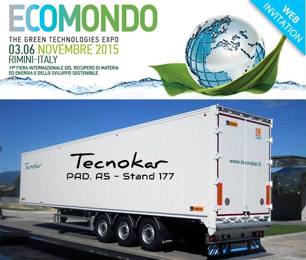 Tecnokar a Ecomondo 2015 - Fiera di Rimini