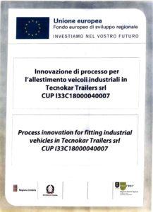 Innovazione di processo per l'allestimento veicoli industriali in Tecnokar Trailers srl