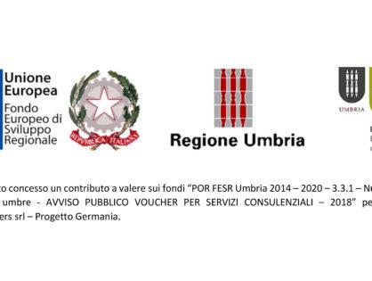 POR FESR Umbria 2014 – 2020 – 3.3.1 - Tecnokar Trailers srl – Progetto Germania