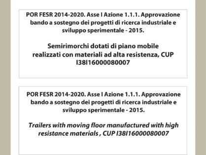 POR FESR 2014-2020. Asse I Azione 1.1.1.